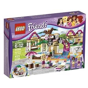 Amazoncom LEGO Friends Heartlake City Pool 41008 Toys