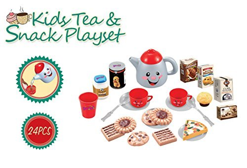 Ginzick Kids Tea & Snack Playset - 1