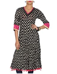 Rajrang Women Printed Tops Tunic Long Kurti Size L