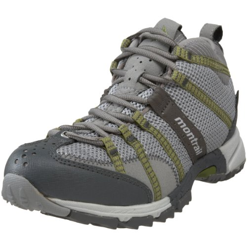 Montrail Women's Mountain Masochist Mid GTX Trail Runner,Cool Grey/Grasshopper,6 M US