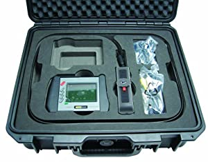 General Tools & Instruments DCS1800ART High Performance Wireless Recording Video Borescope System, Articulating Probe