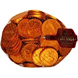 Fort Knox Chocolate Coins, Large Pennies,16-Ounce Bag