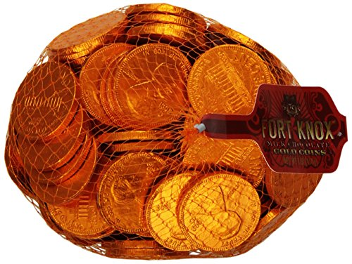 Fort Knox Chocolate Coins, Large Pennies,16-Ounce Bag (Coin Chocolate compare prices)