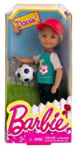 "Darrin w/ Soccer Ball: Barbie Chelsea & Friends Summer Dreamhouse Collection ~5.5"" Doll Figure"