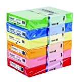 [Bright Green] HQ 500 A4 Sheets Coloured Printer Copier Paper 80gsm [1 Ream]