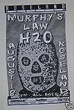 Murphys Law Portland Oregon Punk Flyer Concert Gig Tour Poster