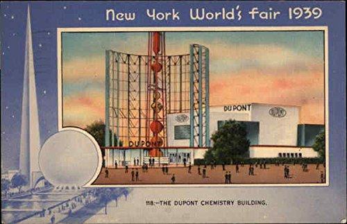 The Dupont Chemistry Bldg., New York World'S Fair 1939 Original Vintage Postcard