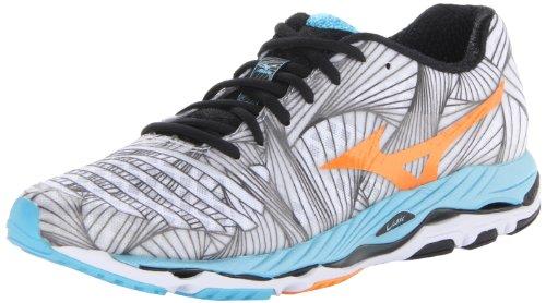Mizuno Women's Wave Paradox Running Shoe,White,7 B US
