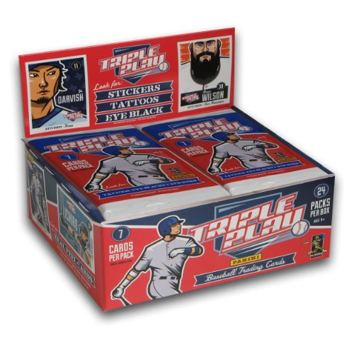 Mlb 2012 Triple Play Baseball Cards front-551537