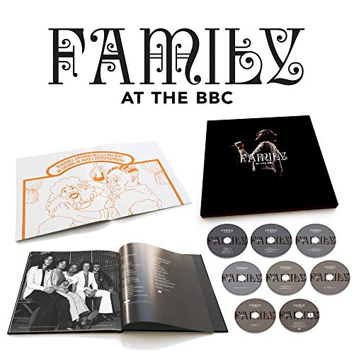 CD : FAMILY - At The Bbc (8 Discos)