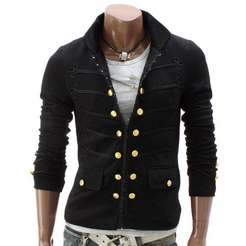 blazer herren sonderangebote herren jacke blazer antik stil schwarz gak08 l. Black Bedroom Furniture Sets. Home Design Ideas