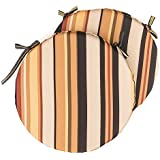 Jeffco 15 in. Round Bistro Outdoor Seat Cushions - Set of 2