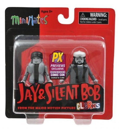 SDCC 2013 Jay & Silent Bob Previews Exclusive Minimates 2-Pack Limited to 3,000