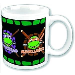 Teenage Mutant Ninja Turtles Mug Turtles Heads Gift Boxed Officially Licensed