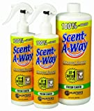Hunter's Specialties Scent-A-Way Scent Elimination Fresh Earth Spray, Bonus Pack