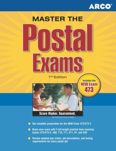 Master the Postal Exams, 7/e (Arco Master the Postal Exams)