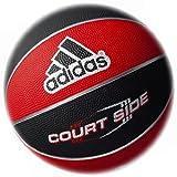 adidas(アディダス) ゴムバスケットボール5号球 [ COURT SIDE ] AB5122RBK
