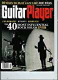 img - for Guitar Player Magazine June 2011 the 40 Most Influential Rock Solos Ever! + 10 Ways to Play Jazz Like Joe Pass book / textbook / text book