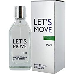 UCB LetS Move By Benetton for Men, 100ml