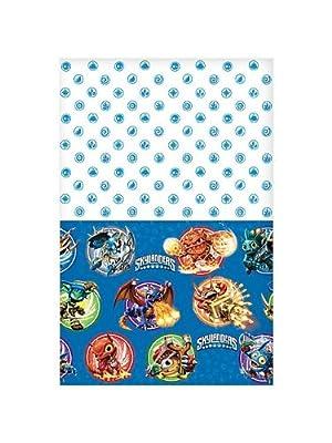 "Skylanders Plastic Table Cover 54"" x 96"" Birthday Party Supplies"