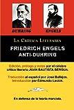 img - for Anti-Duhring de Friedrich Engels: La Ciencia y Las Teorias Marxistas, Coleccion La Critica Literaria Por El Celebre Critico Literario Juan Bautista Be (Spanish Edition) book / textbook / text book