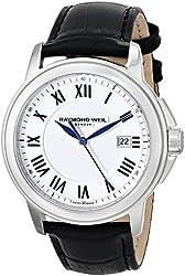 Raymond Weil Men's 5578-STC-00300 Tradition Analog Display Swiss Quartz White Watch