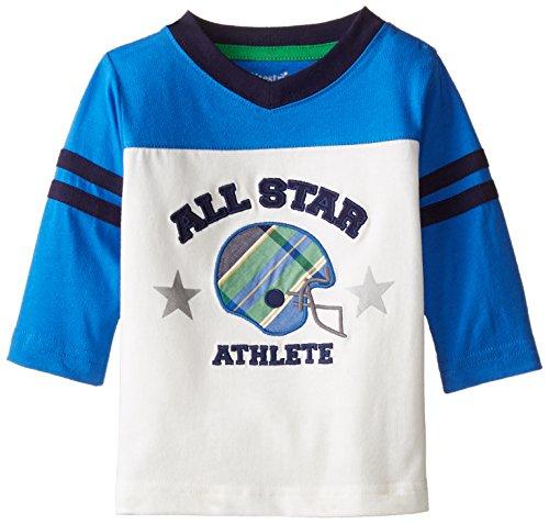 Hartstrings Baby Boys All Start Tee Shirt, Marshmallow, 12 Months