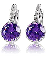 ANDI ROSE Fashion Jewelry Crystal & Rhinestones Hoop Stud Earrings for Women