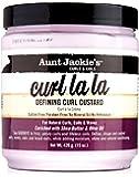 Crème de définition de boucles Curl La La - Enrichie en beurre de karité et en huile d'olive - Pot de 425 g