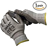 Pakel High Performance Cut Resistant Gloves En388 CE Level 5 (Medium)