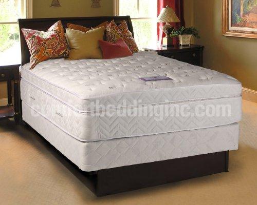 lexus pocket coil pillowtop plush firm queen size mattress and box spring set super cheap. Black Bedroom Furniture Sets. Home Design Ideas