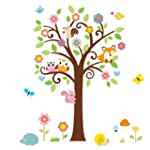 Songmics FWT010 Sticker mural pour ch...