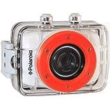 "Polaroid XS7 - Videocámara de 5 Mp (pantalla táctil de 2"", vídeo HD 720p), blanco - kit de fijación incluido"