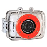 Polaroid XS7 HD 720p 5MP Waterproof Sports Action Camera with LCD Touch Screen, Mounting Kit Include Amazon