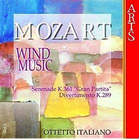 """Serenade No. 10 In B Flat Major K. 361 (K. 370A) """"Gran Partita"""": III. Adagio"""