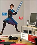 Anakin Skywalker - Star Wars: The Clone Wars (Glow-in-the-Dark) Peel & Stick Giant Wall Mural Applique