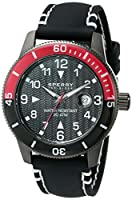 Sperry Top-Sider Men's 10014891 Diver Analog Display Japanese Quartz Black Watch from Sperry Top-Sider Watches MFG Code