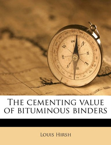 The cementing value of bituminous binders