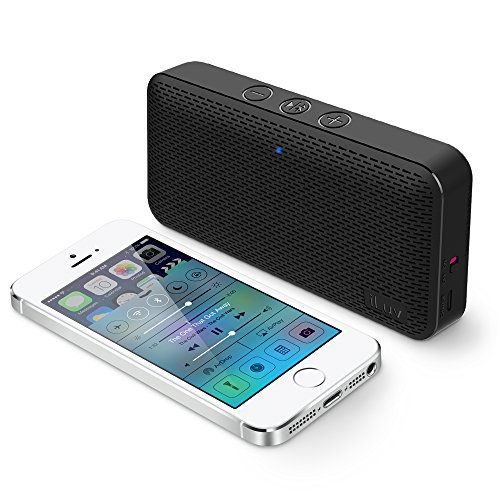 Aud-Mini-by-iLuv-Ultra-Slim-Pocket-Sized-Portable-Bluetooth-Speaker-for-Apple-iPhone-Apple-iPad-Samsung-GALAXY-Samsung-Note-Samsung-Tablet-LG-HTC-Google-and-other-Bluetooth-Devices-Black