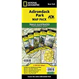 Adriondack Park [Map Pack Bundle] (National Geographic Trails Illustrated Map)