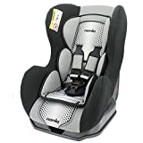 Carseat convertible - Group 0/1 (0-18kg) - Made in France - 3 stars Test ADAC - Side Protections - Reclining Seat - 4 colors (black)