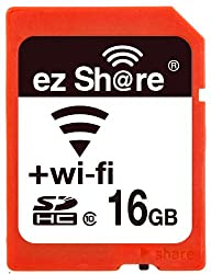 Wifi Sd Memory Card 16GB Class 10 New New Inc® 2nd Generation Ez Share