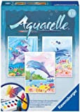 Ravensburger 29310 - Delfine - Aquarelle Midi, 18 x 24 cm