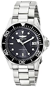 Invicta Men's ILE8926ASYB Pro Diver Analog Display Japanese Automatic Silver Watch