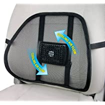 12V MESH BACK COOLING LUMBAR SUPPORT
