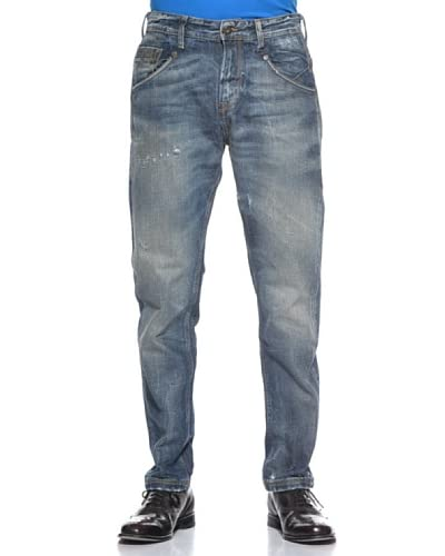 Meltin'Pot Jeans Regular Mp005 [Denim Blu]