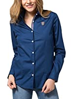 Jimmy Sanders Camisa Mujer (Azul Oscuro)