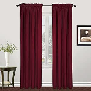 amazon com united curtain metro woven window curtain