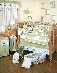 Amazon Savannah 6 Piece Baby Crib Bedding Set Baby