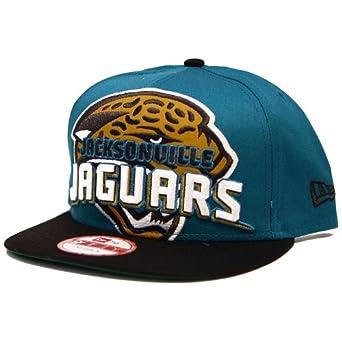 Jacksonville Jaguars New Era Squared up Snapback Adjustable Hat by New Era